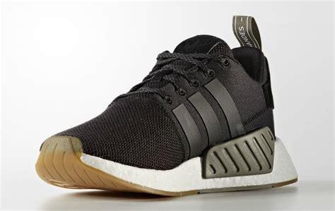 adidas nmd  black gum  sneaker bar detroit