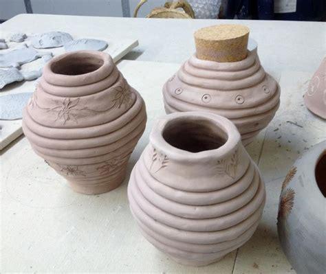ceramic coil pot with cork flydragon design studio llc