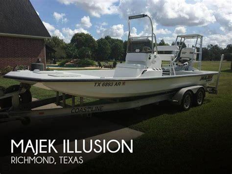 fishing boats for sale richmond sold majek illusion boat in richmond tx 137799