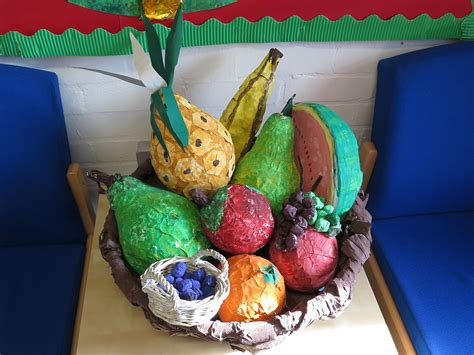 How To Make Paper Mache Food - food glorious food topic stretton handley church of