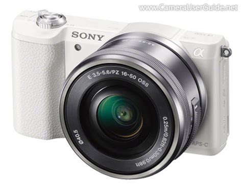 download sony alpha a5100 α5100 ilce 5100 pdf user manual