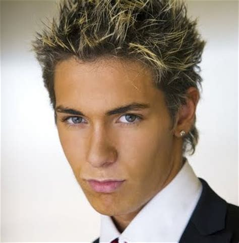 layered hairstyle: cool men short hairstyles for men 2010