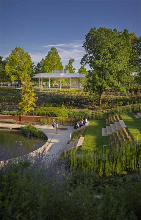 Okc Botanical Garden by Office Profile Ojb Landscape Architecture 171 Landscape