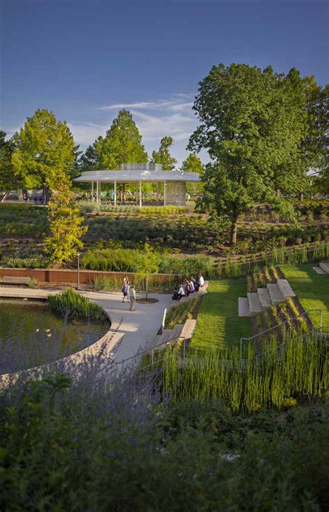 Myriad Botanical Gardens Oklahoma City Office Profile Ojb Landscape Architecture 171 Landscape Architecture Works Landezine