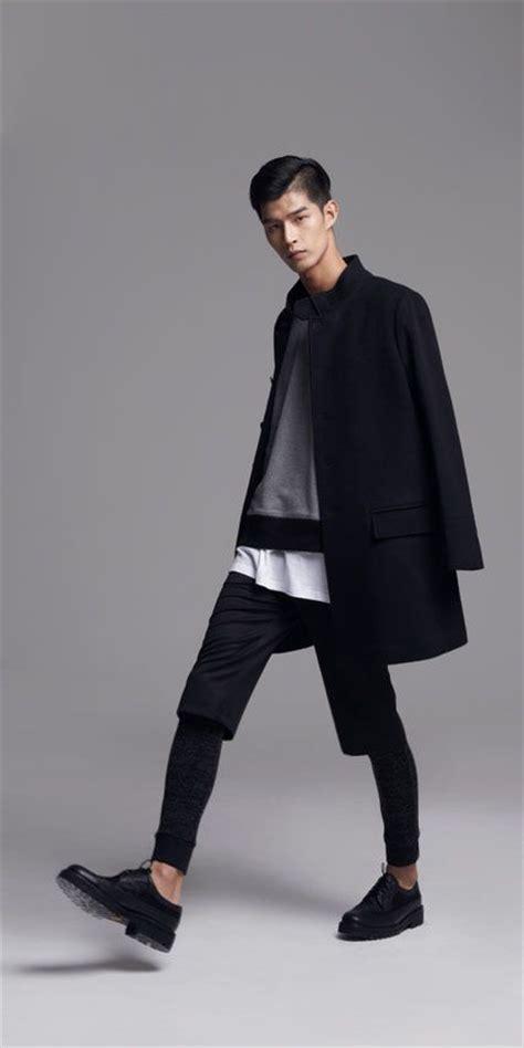 black x white menswear minimalist style fashion