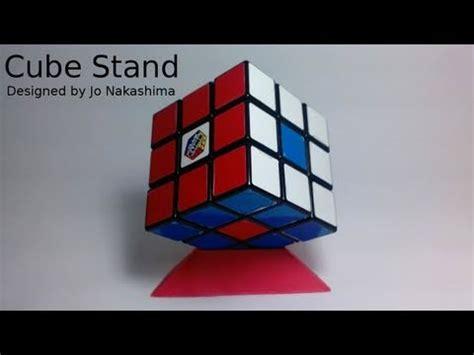 Origami Rubik Cube - origami cube stand jo nakashima