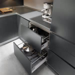 Stainless Steel Kitchen Furniture Stylish Grey Kitchen Inspiration By Ernestomeda Digsdigs