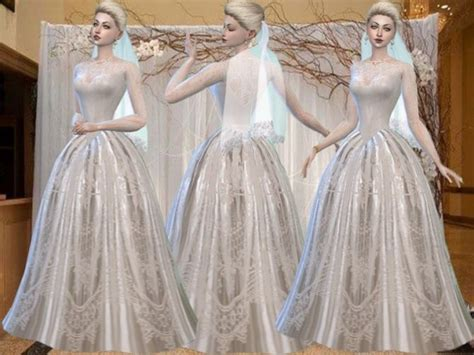 ball gown sims 4 72 best images about sims 4 wedding dress on pinterest