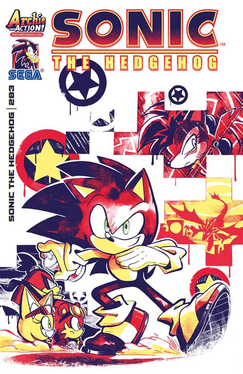 Bookmarks Infinite Fanart Limited Design 1 sonic 283 archie comics