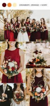 fall wedding colors best 25 september wedding colors ideas on