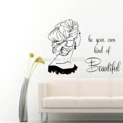 Beauty Wall Stickers Popular Beautiful Hair Quotes Buy Cheap Beautiful Hair