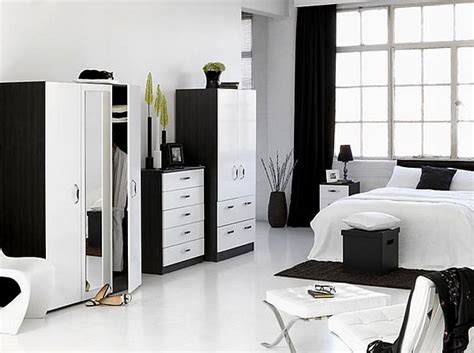 white and black bedroom how to decorate a bedroom with white furniture