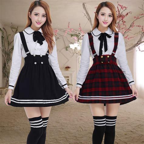 long sleeve japanese school uniform  girls students
