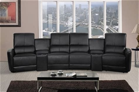 oscar  seater home theatre reclining lounge black