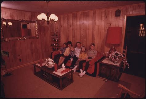 house decorating photos file wayne gipson family in the living room of the house