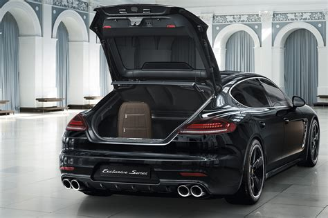 porsche panamera exclusive ultra luxurious porsche panamera exclusive series costs