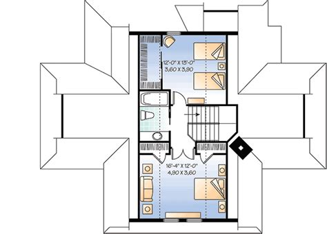 vacation home floor plans four season vacation home plan 21569dr architectural designs house plans