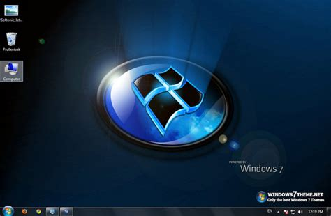 theme windows 7 zen dark theme download