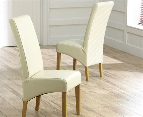 Bonded Leather Dining Chairs Cannes Bonded Leather Dining Chairs Pair The Great Furniture Trading Company