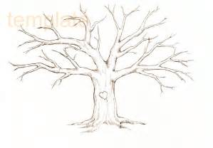 Picture Of A Family Tree Template by Family Tree Template Family Tree Thumbprint Template