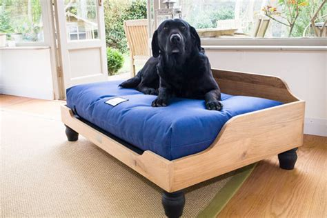 dog bed frame wooden dog bed frame in solid english oak