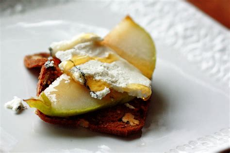 pear cheese honey appetizer yummy mummy kitchen