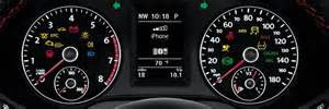 vw dashboard warning light