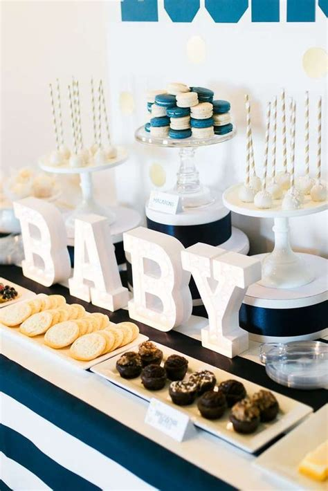 baby boy dessert table 35 boy baby shower decorations that are worth trying