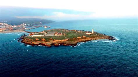 la isla de las la isla de las palomas desde un drone youtube