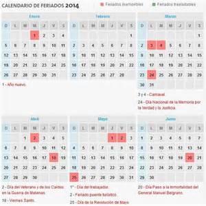 Guatemala Calendã 2018 Calendario 2014 Con D 237 As Festivos De La Argentina