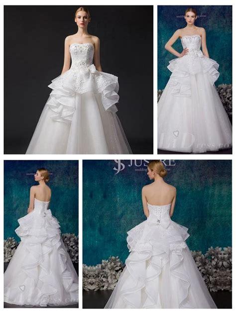 wedding dress with beaded bodice strapless beaded bodice a line wedding dress 2553695