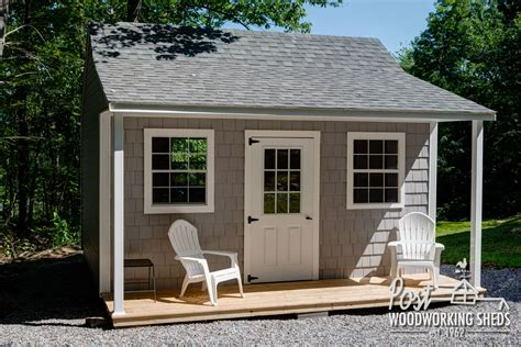 vinyl shake shed  farmers porch post woodworking sheds pinterest shed shed  porch