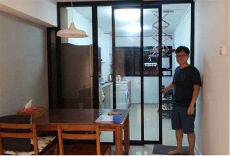sliding door design for kitchen hdb doors