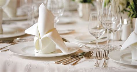 Dining Table Napkin Folding Formal Dining Using Your Napkin The Etiquette Butterfly