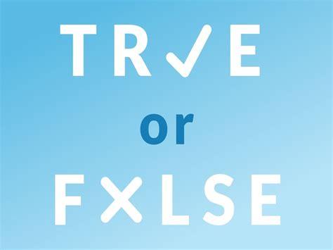 Or In True Or False Weekly Challenge