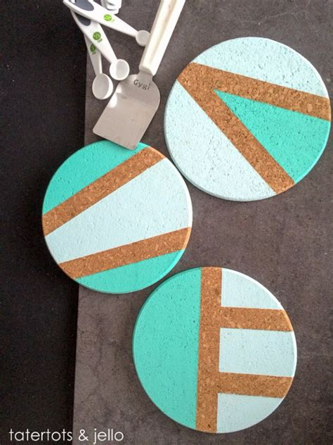 homemade coasters 33 awesome ideas for diy coasters diy joy