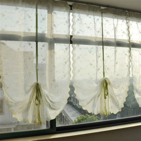 drawstring curtains aliexpress com buy riband draw string embroidered