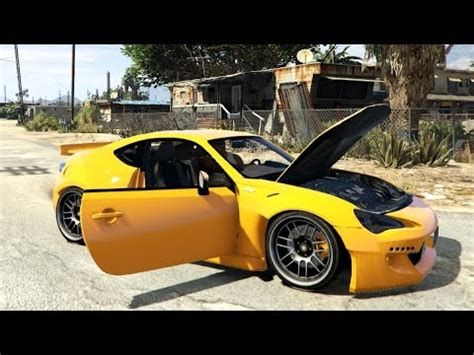 toyota gt 86 rocket bunny v1.5 for gta 5