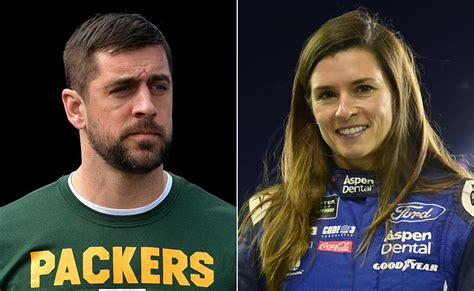 danica patrick confirms shes dating aaron rodgers ny daily news