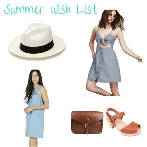 building  conscious closet summer  list