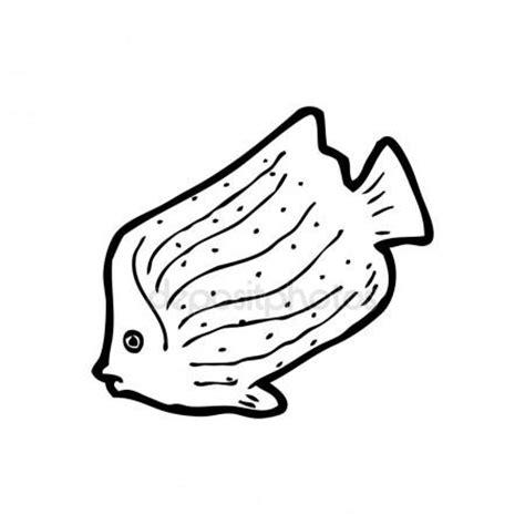 cartoon vis tattoo zwart wit vis tekening stockvector 169 lineartestpilot