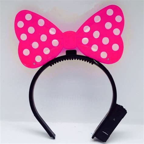 light up minnie mouse cheap magic light up mickey minnie ears headbands uk for