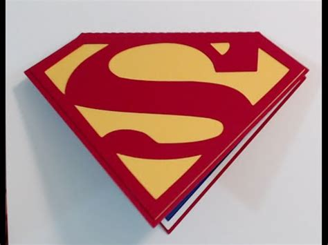 superman superpowers card template superman birthday invitations card tutorial silhouette