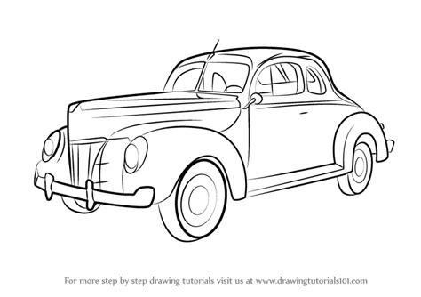 step by step how to do a 1940s updo learn how to draw 1940 ford deluxe vintage step by step