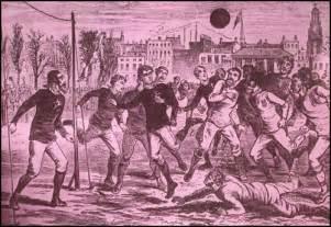 Short history of football soccer