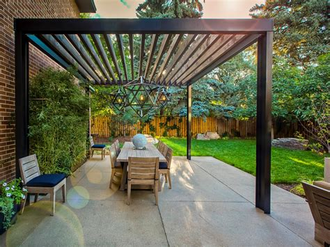 modern pergolas photos hgtv