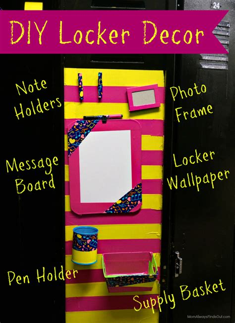 how to make locker decorations at home diy locker decorations and accessories