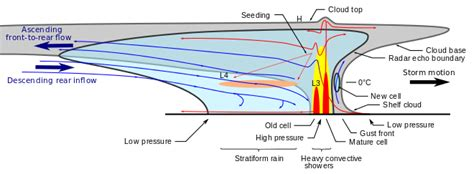 cross section line squall line symbol images