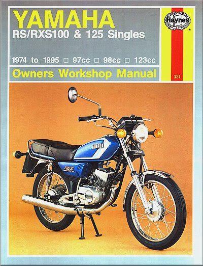 yamaha rs 100 motorcycle wiring diagram wiring diagram
