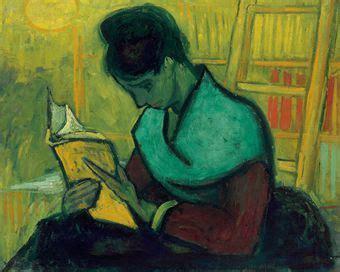 paint reader vincent van gogh 1853 1890 une liseuse de romans